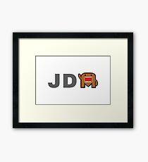 JDM Domo monster Framed Print