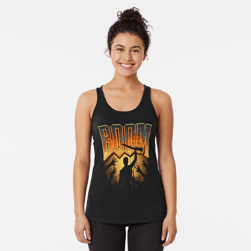 This is my Boomstick T-shirt Racerback Tank Top