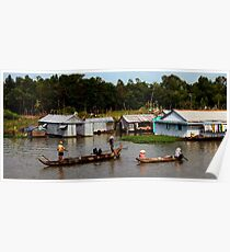 A Floating Community - Viet Nam Poster