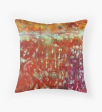 Abstract 13 Throw Pillow