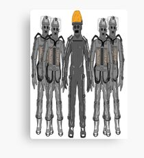 The Second Cybermen (Tomb Cybermen) Canvas Print