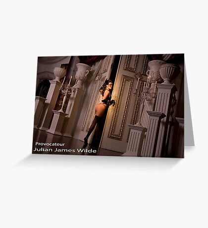 Beauty Steps into the Darkness Greeting Card