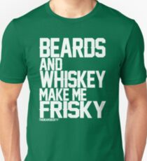 Beards and Whiskey Unisex T-Shirt