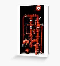Fire Hydrant - Brisbane Greeting Card
