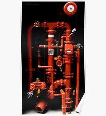 Fire Hydrant - Brisbane Poster