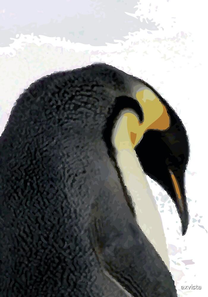 Frosty Penguin by exvista