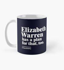Auch dafür hat Elizabeth Warren einen Plan Tasse (Standard)