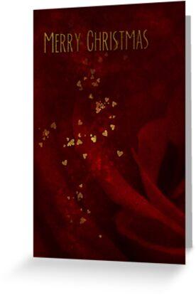 Christmas Roses - Card by Sybille Sterk