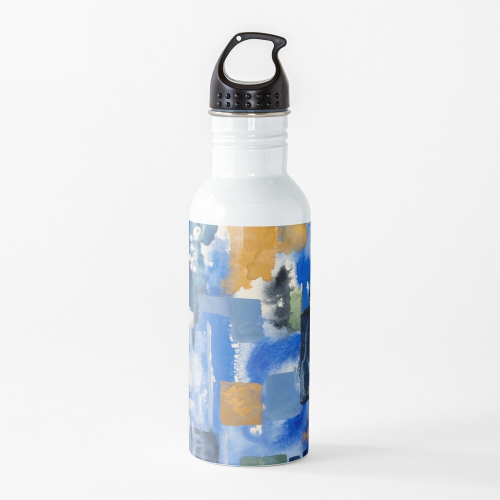 Ginger Jars Abstract Water Bottle