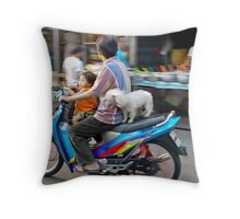 Fleeting Throw Pillow
