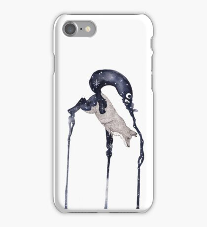 Jumping Fox No.3 iPhone Case/Skin