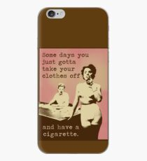 SOMETIMES... iPhone Case