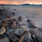 Pukaki Rocks by Michael Treloar