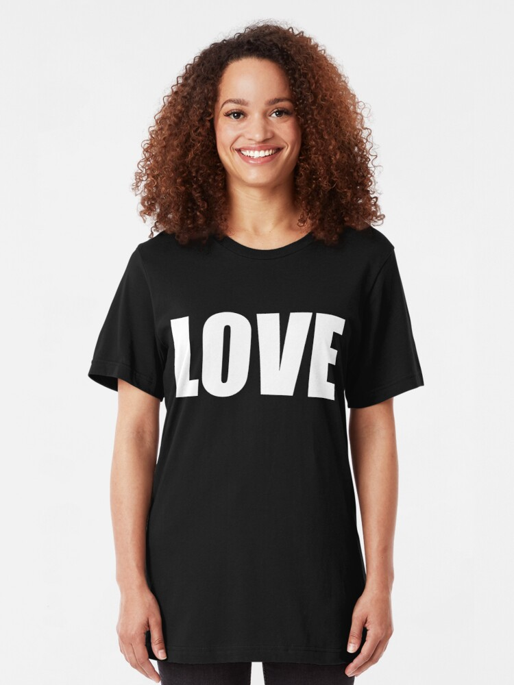 Alternate view of Love Slim Fit T-Shirt