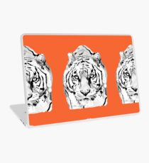 Tiger Orange Laptop Skin