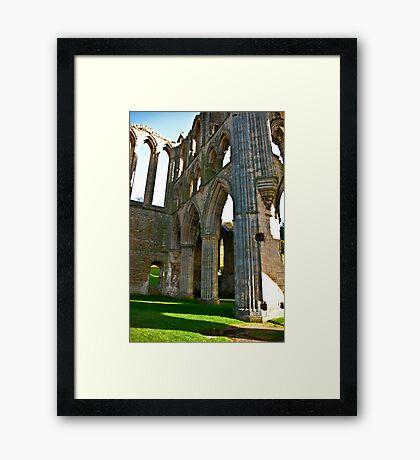 Rievaulx Arches Framed Print
