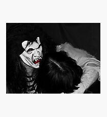 The Vampire Takes His Prize Photographic Print