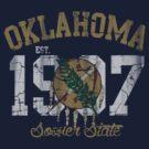 Vintage Oklahoma Sooner State by iEric
