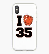 I Glove 35 iPhone Case