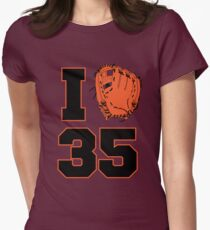 I Glove 35 Womens Fitted T-Shirt
