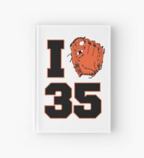 I Glove 35 Hardcover Journal