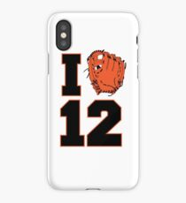 I Glove 12 iPhone Case/Skin