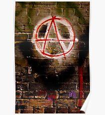 Anarchy Graffiti - Brisbane CBD Poster