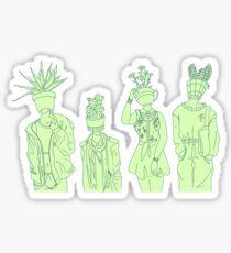 Plant People Sticker
