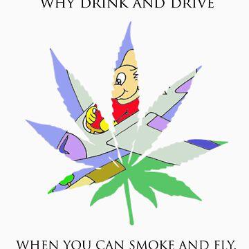 Smoke and fly by osacip