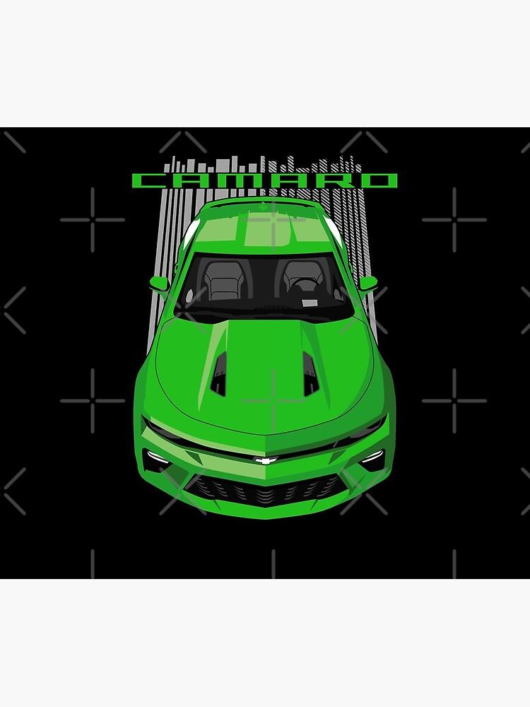 Chevrolet Camaro SS 6thgen - Green by V8social
