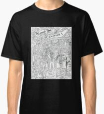 The Lovecraft Tapes Chapter 1 Lights Camera Chaos Classic T-Shirt