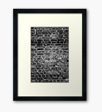 20662 B&W Framed Print