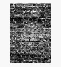 20662 B&W Photographic Print
