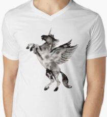 Unique Horn Men's V-Neck T-Shirt