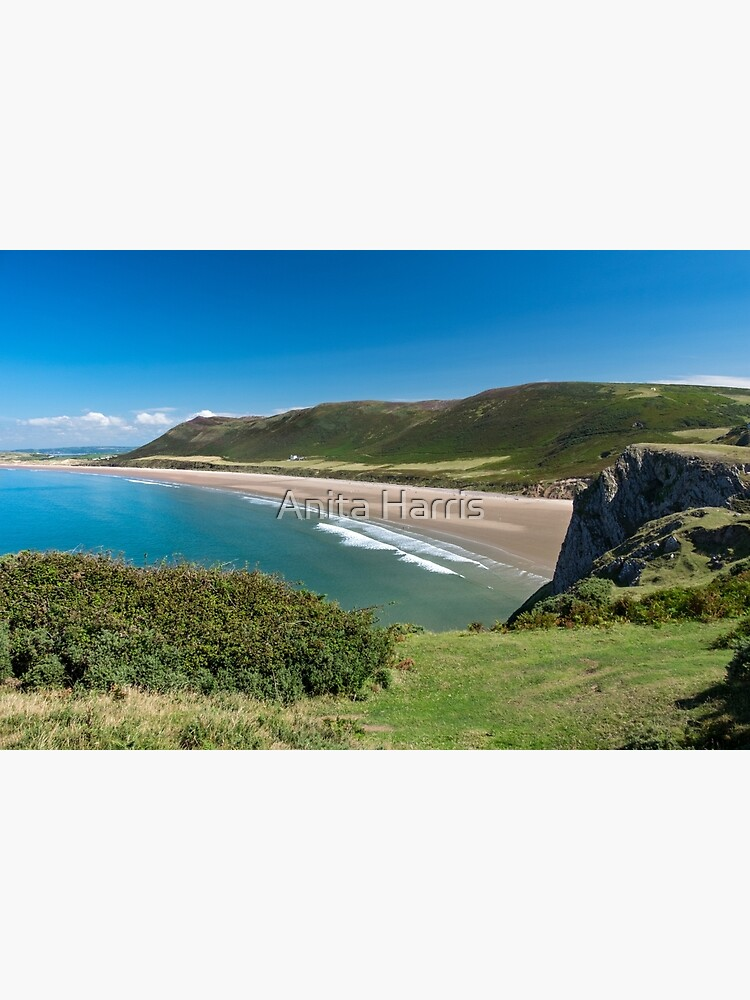 Rhossili Bay by plasticflower