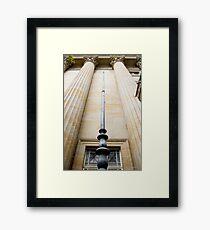 Masonic Temple - Brisbane CBD Framed Print