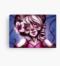 Pink Quartz Canvas Print