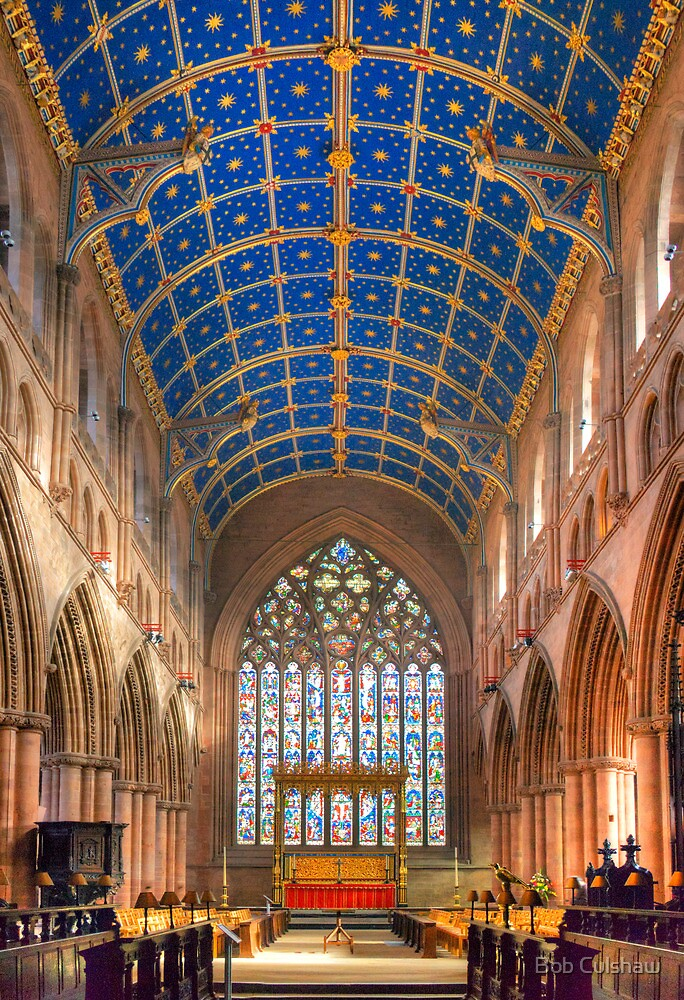"""Nave, Carlisle Cathedral, Cumbria, England"" by Bob ..."