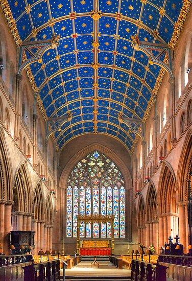 Nave, Carlisle Cathedral, Cumbria, England by Bob Culshaw