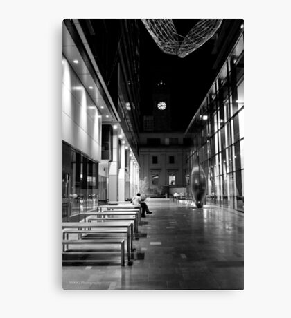 Some Quiet Time B&W Canvas Print