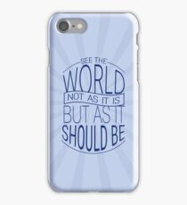 See The World #3 iPhone Case/Skin