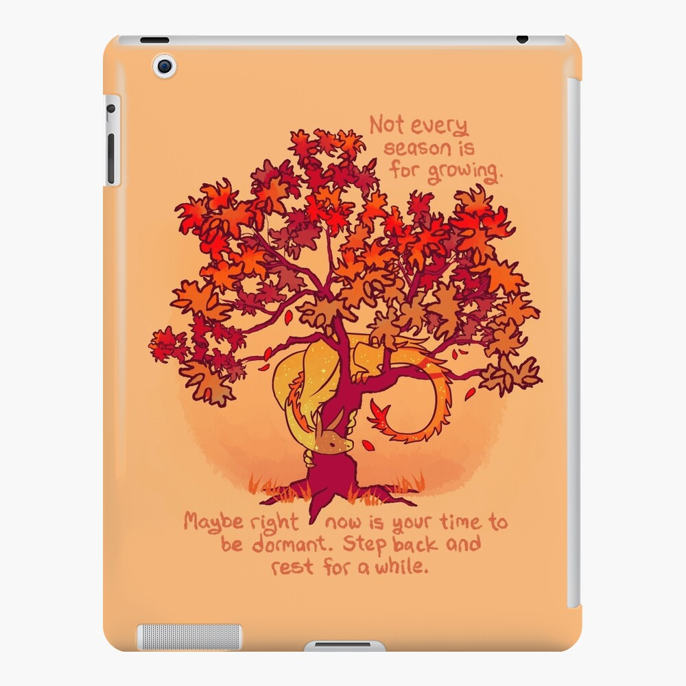 """Not Every Season is For Growing"" Fall Dragon Forest Spirit iPad Case & Skin"