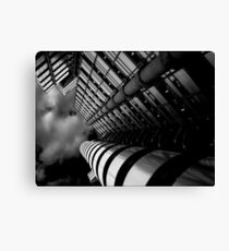 ANOTHER RED PILL Canvas Print