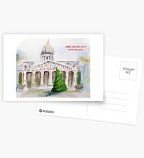 Nottingham Council House Christmas card Postcards