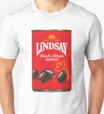 Black Olives Matter T-Shirt
