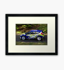 Rally of France 2010 Kuipers D. Framed Print