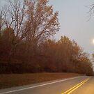 Waxing Moon, Eagle Creek  by Jennifer Ferry