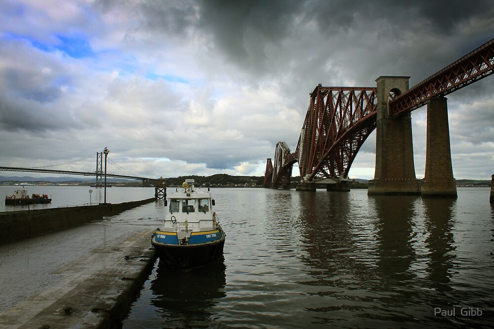 The Forth Bridge and The Maid of The Forth by Paul  Gibb