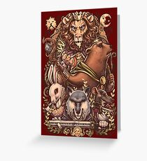 ARMELLO - Battle for the crown Greeting Card