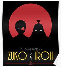 The Adventures of Zuko and Iroh Poster